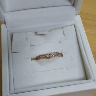 K1010金ピンクゴールド  リング  可愛い  きれい  5号  送料込 綺麗(リング(指輪))