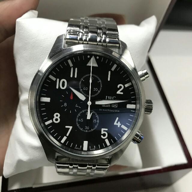 IWC - IWCメンズ腕時計ポルトギーゼアナログ IW377710の通販 by pontwh's shop|インターナショナルウォッチカンパニーならラクマ