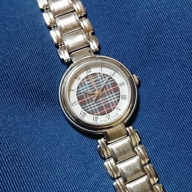 BURBERRY - BURBERRYS❇️ノバチェック ヴィンテージ アナログ腕時計の通販 by 月笛 shop|バーバリーならラクマ
