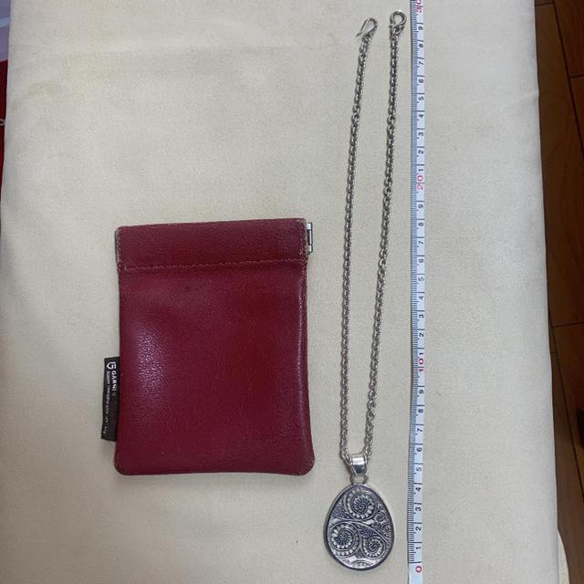 GARNI(ガルニ)のgarni ガルニ ペイズリー柄ネックレス silver925 アクセサリー メンズのアクセサリー(ネックレス)の商品写真