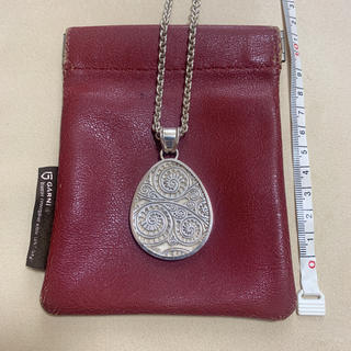 GARNI - garni ガルニ ペイズリー柄ネックレス silver925 アクセサリー