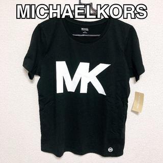 マイケルコース(Michael Kors)の【新品・M】マイケルコース ブラック Tシャツ 【タグ付き】(Tシャツ(半袖/袖なし))