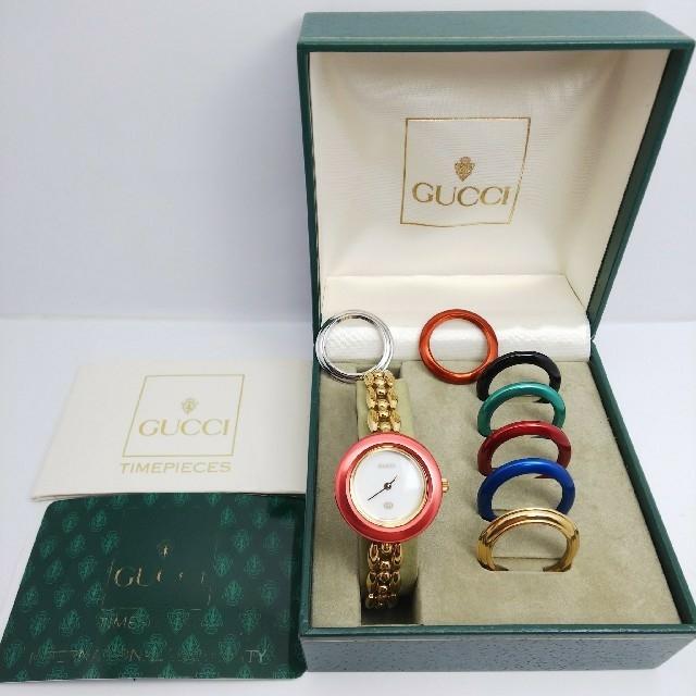 Gucci - GUCCI 腕時計 チェンジベゼル 稼働中 t97の通販 by ティファ's shop|グッチならラクマ