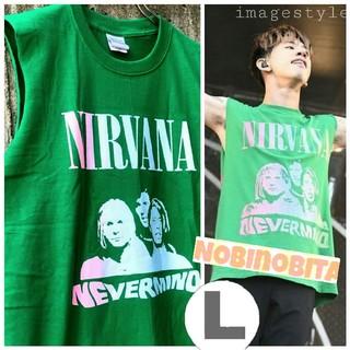 ワンオクロック(ONE OK ROCK)のL)再入荷! nirvana nevermind T(Tシャツ/カットソー(半袖/袖なし))