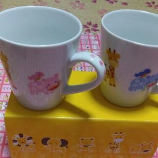 ミキハウス(mikihouse)のミキハウス ペアマグカップ2個セット(グラス/カップ)