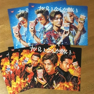 EXILE クリアファイル 5枚セット(クリアファイル)
