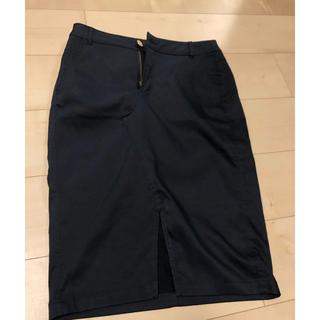 ノーブル(Noble)の膝丈スカート  美品(ひざ丈スカート)