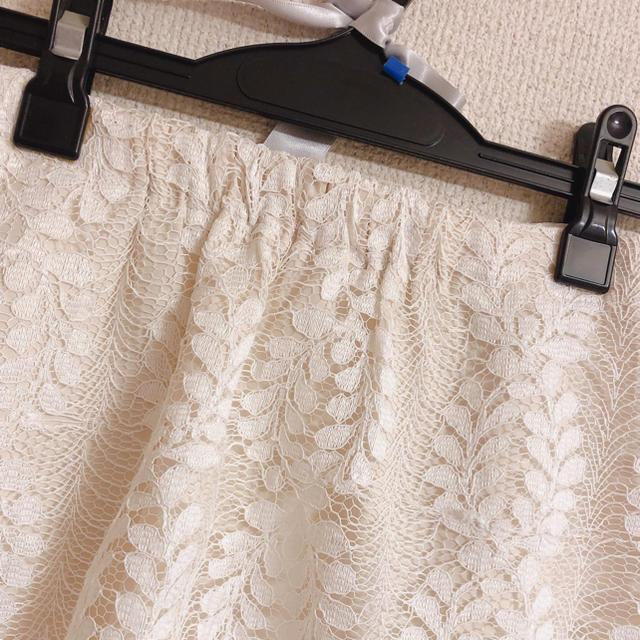 MERCURYDUO(マーキュリーデュオ)のレース 花柄 スカート レディースのスカート(ミニスカート)の商品写真
