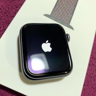 アップルウォッチ(Apple Watch)のApple Watch series 4 44mm スペースグレー GPS(腕時計(デジタル))