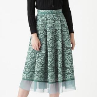 ジルスチュアート(JILLSTUART)の新作完売  JILLSTUART ジルスチアート スカート サイズ2 洋服(ロングスカート)