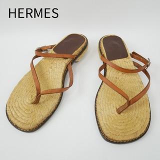 エルメス(Hermes)のHERMES エルメス 37サイズ スペイン製 サンダル(サンダル)