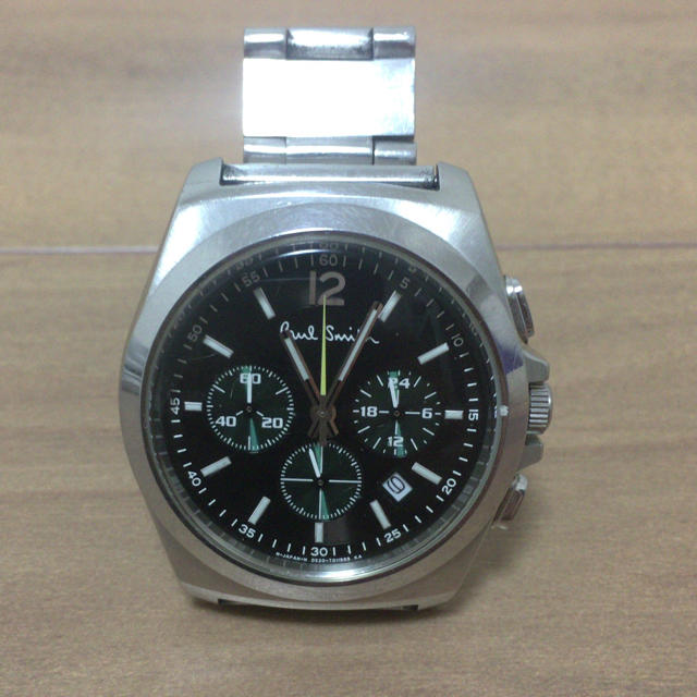 Paul Smith - ポールスミス腕時計 GN-4W-S 540191 10気圧 ブラック×グリーン の通販 by こすてろ's shop|ポールスミスならラクマ