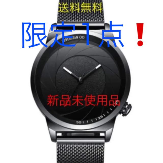 【売れてます❗️】 腕時計 メンズ ビジネス  防水 薄型(ブラック)の通販 by AM★断捨離中★'s shop|ラクマ