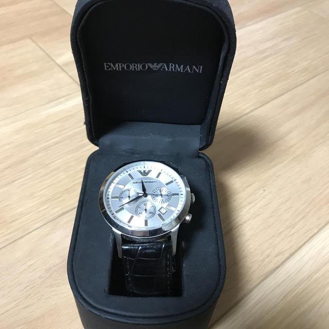 ARMANI 時計 AR2432の通販 by お肉's shop|ラクマ