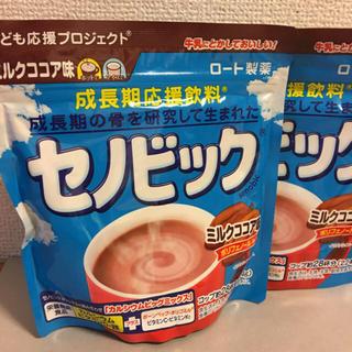 ロートセイヤク(ロート製薬)のセノビックミルクココア味(224g×1袋)×2袋(その他)