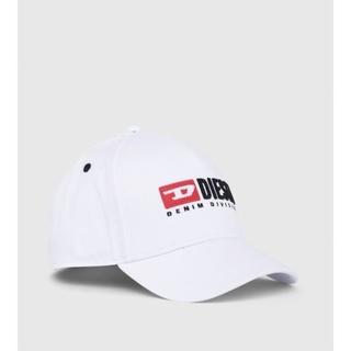 ディーゼル(DIESEL)の新品★DIESEL キャップ 帽子 ホワイト  サイズⅢ(帽子)