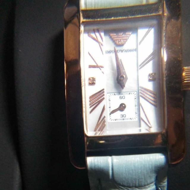 アルマーニのクォーツ時計美品の通販 by くまくま's shop|ラクマ