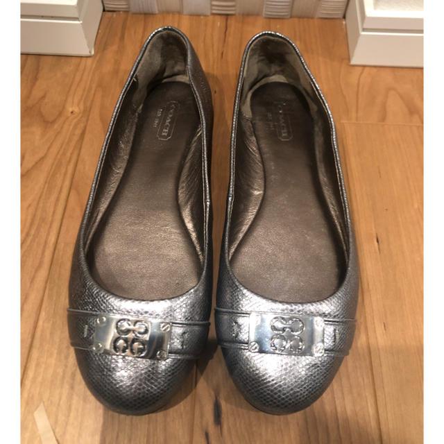 COACH(コーチ)のはなちゃん専用:COACH バレエシューズ 24.5-25.0 レディースの靴/シューズ(バレエシューズ)の商品写真
