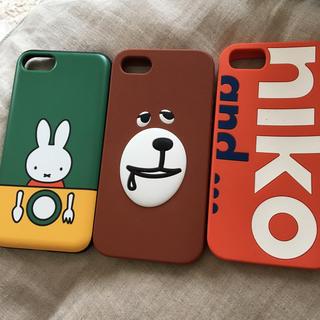 ニコアンド(niko and...)のiphone 6s.7.ケース(iPhoneケース)