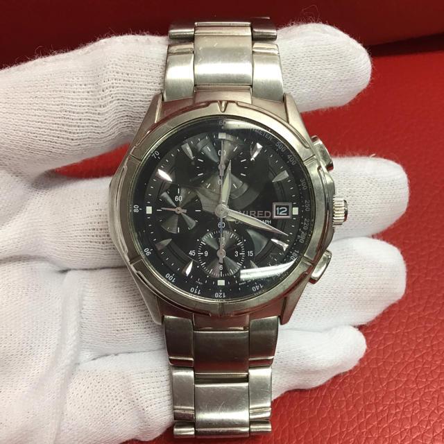WIRED - WIRED ワイヤード メンズ 腕時計 F2F3BQの通販 by brandsale|ワイアードならラクマ