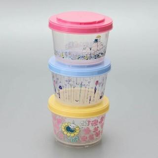 アフタヌーンティー(AfternoonTea)のムーミン 3段カップ容器 アフタヌーンティー(容器)