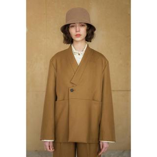 サンシー(SUNSEA)のANITYA  Utsuo jacket(ノーカラージャケット)