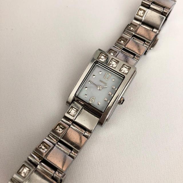 WIRED - SEIKO ワイアード シェル文字盤 レディースクォーツ腕時計 電池ありの通販 by じゅん's shop|ワイアードならラクマ