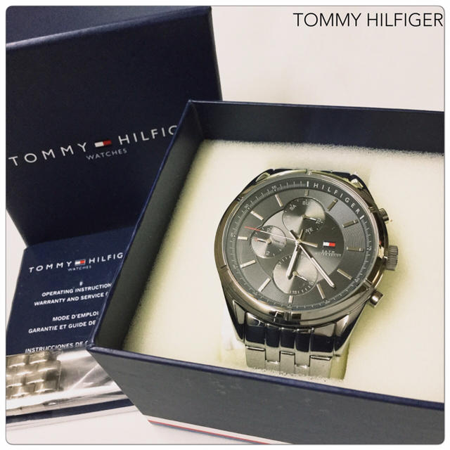 TOMMY HILFIGER - 【新同】TOMMY HILFIGER メンズ腕時計 クオーツ 電池交換済みの通販 by My Collection's shop|トミーヒルフィガーならラクマ