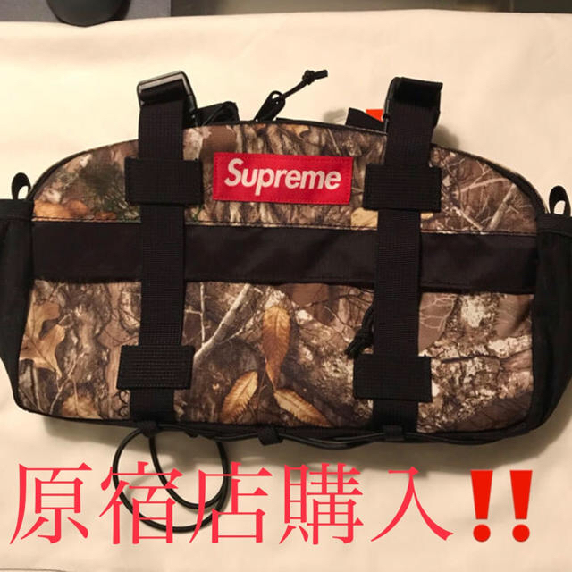 Supreme(シュプリーム)のSupreme 19aw waist bag Real Tree camo メンズのバッグ(ボディーバッグ)の商品写真