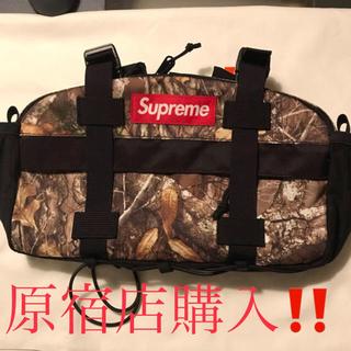 Supreme - Supreme 19aw waist bag Real Tree camo