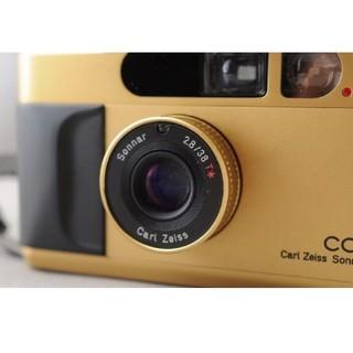 キョウセラ(京セラ)のcontax t2 gold 限定 ゴールド(フィルムカメラ)