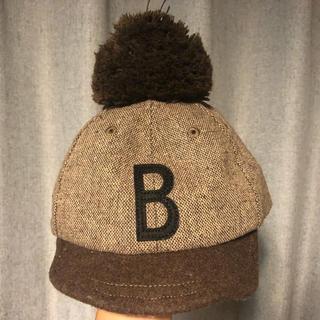 ブリーズ(BREEZE)のkids ポンポンキャップ(帽子)