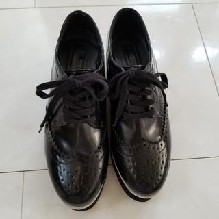 フォーエバートゥエンティーワン(FOREVER 21)のフォーエバー21  オックスフォード 靴 22.5cm(ローファー/革靴)