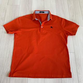 バーバリーブラックレーベル(BURBERRY BLACK LABEL)のバーバリーブラックレーベル ポロシャツ オレンジ(ポロシャツ)