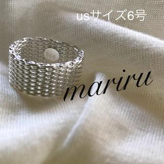 シルバー925 リングⅡ usサイズ6号(リング(指輪))