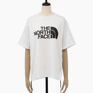 ハイク(HYKE)のHYKE x THE NORTH FACE 19SS ロゴ Tシャツ 白 新品(Tシャツ(半袖/袖なし))