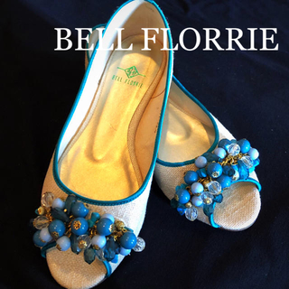 ⑯used美品【22㎝】BELL FLORRIE パンプス(ハイヒール/パンプス)