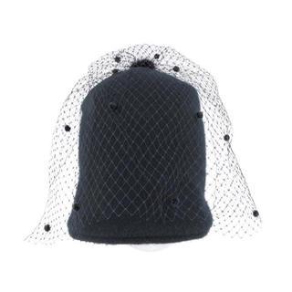 Drawer - HELENE BERMAN LONDON チュール付きニット帽