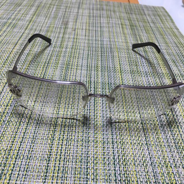 CHANEL(シャネル)のCHANELハーフミラー(美品)最終お値引き致しました‼️ メンズのファッション小物(サングラス/メガネ)の商品写真