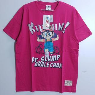 新品・Drスランプ・アラレちゃん・3Lビッグサイズ・半袖Tシャツ・ピンク(Tシャツ/カットソー(半袖/袖なし))