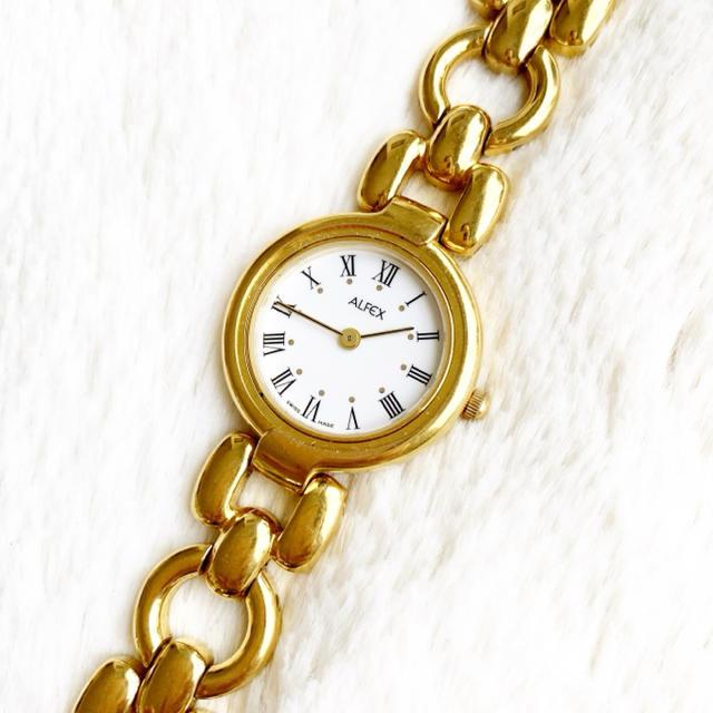 ALFEX アルフェックス スイス製 レディース腕時計の通販 by Pinor's shop|ラクマ