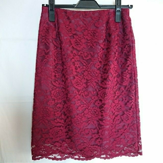 ハコ(haco!)のhaco! レースタイトスカート(ひざ丈スカート)