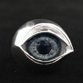 【正規品】ネクロマンス 義眼リング グレー US8 17号 NECROMANCE(リング(指輪))
