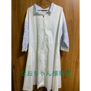 フラボア(FRAPBOIS)のシャツ ワンピース フラボア(ひざ丈ワンピース)