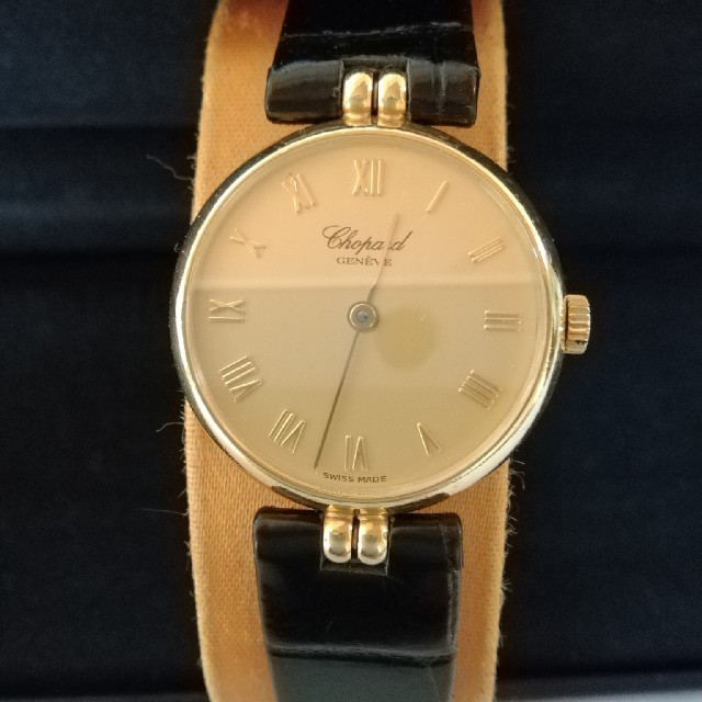 Chopard - 美品。最高級ウォッチメゾン。Chopard ショパール K18金無垢 腕時計の通販 by aday's|ショパールならラクマ