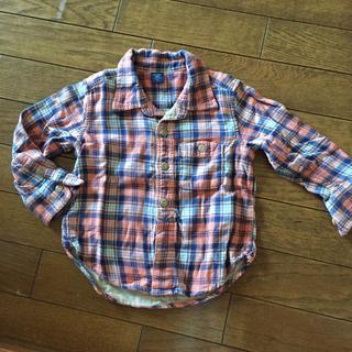 ベビーギャップ(babyGAP)のGAP ベビー90 チェックシャツ(ブラウス)