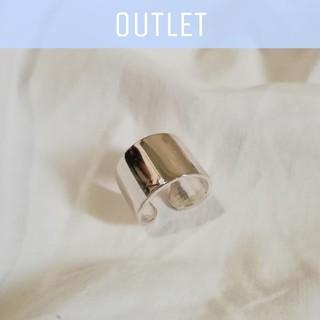 アズールバイマウジー(AZUL by moussy)の【※ワケあり/数量限定※】silver 925 widering 1.4cm*(リング(指輪))