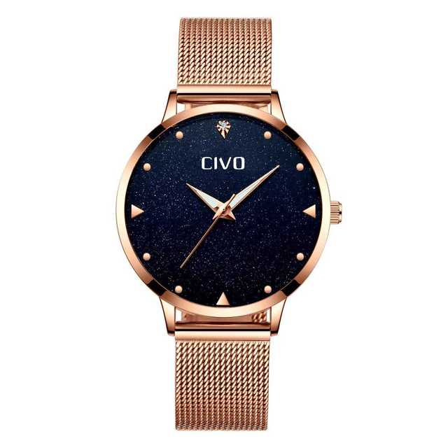 [チーヴォ]CIVO 腕時計薄型 レディース時計の通販 by スマ3's shop|ラクマ