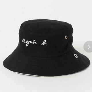 アニエスベー(agnes b.)のアニエス・ベー リバーシブルハット☆*゜(帽子)