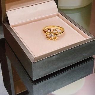 ブルガリ(BVLGARI)のBvlgariブルガリ リング指輪 めちゃめちゃ可愛い イエローゴールド 8(リング(指輪))